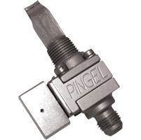 Pingel Guzzler Fuel Valve Single, -6AN Outlet