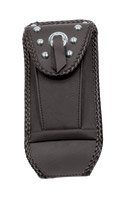 Mustang Studded Tank Bib with Pouch for Softail