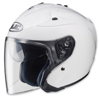 HJC FG-Jet White Open Face Helmet