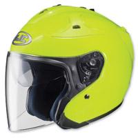 HJC FG-Jet Hi-Viz Open Face Helmet