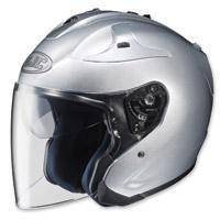 HJC FG-Jet Silver Open Face Helmet