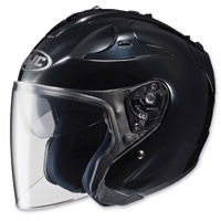 HJC FG-Jet Black Open Face Helmet