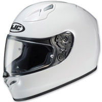 HJC FG-17 White Full Face Helmet