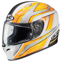HJC FG-17 Ace Yellow Full Face Helmet