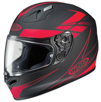 HJC FG-17 Force Matte Black/Red Full Face Helmet