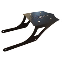 BDD Custom Black 8-Ball Luggage Rack for 2-Up Seats