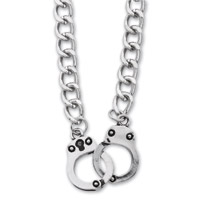 AMiGAZ Curb Chain Handcuff Necklace