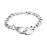 AMiGAZ Curb Chain Handcuff Bracelet