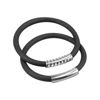 AMiGAZ Large Amez Jumbo Silver Bracelet