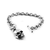 AMiGAZ Toggle Teardrop w/Skull XL Bracelet