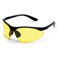 Chap'el C-123 Black Frame/Night Driving Lens Safety Glasses