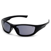 Chap'el C-125 Black Frame/Smoke Lens Safety Glasses
