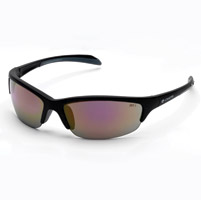 Chap'el C-130 Black Frame/Red Revo Lens Safety Glasses