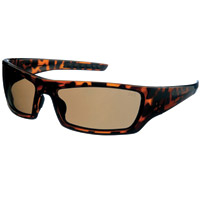 Chap'el C-137 Demi Frame/Brown Lens Safety Glasses