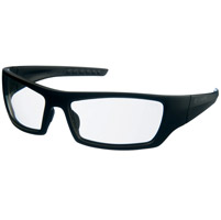 Chap'el C-137 Black Frame/Clear Mirror Lens Safety Glasses