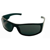 Chap'el C-160 Black Frame/Smoke Lens Safety Glasses