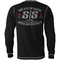Speed and Strength Rage With The Machine Thermal T-shirt