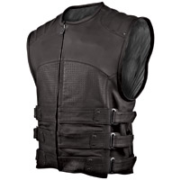 Speed and Strength Tough As Nails Leather Vest