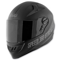Speed and Strength SS1300 Under The Radar Matte Black Helmet