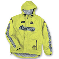 ICON Men's PDX Waterproof Yellow Jacket