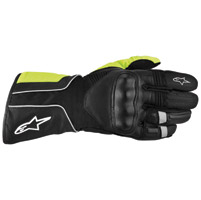 Alpinestars Men's Overland Drystar Black/Yellow Glove