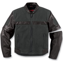 ICON Men's One Thousand Outsider Black Jacket
