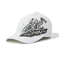 Alpinestars Valley Flexfit White Hat