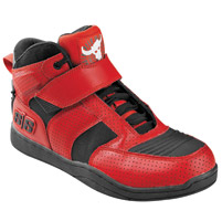 Speed and Strength Men′s Run with the Bulls Red Moto Shoe