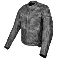 Speed and Strength Men's Speed Shop Black Leather Jacket