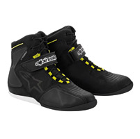 Alpinestars Men′s Fastback Black/Silver/Yellow Waterproof Shoe