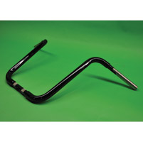 KST Kustoms 1-1/4″ Gloss Black 14″ Straight Jacket Handlebars