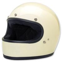 Biltwell Inc. Gringo Vintage White Full Face Helmet