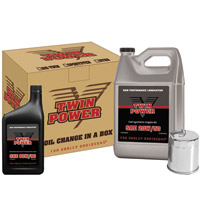 Twin Power Synthetic Oil Change In A Box For Sportsters