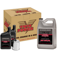 Twin Power Synthetic Oil Change In A Box For Twin Cam