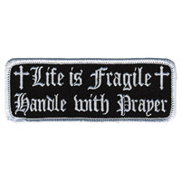 Hot Leathers Life Is Fragile Patch