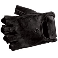 Scorpion EXO Men′s Half-Cut Black Leather Gloves