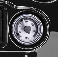 Dakota Digital MVX Two-Gauge Kit Oil Pressure Gauge