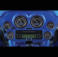 Dakota Digital MVX Two-Gauge Kit Oil Temperature Gauge
