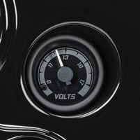 Dakota Digital MVX Two-Gauge Kit Voltmeter Gauge