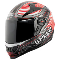 Speed and Strength Speed Strong SS1300 Gloss Red Full Face Helmet
