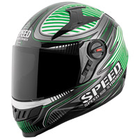 Speed and Strength Speed Strong SS1300 Gloss Green Full Face Helmet