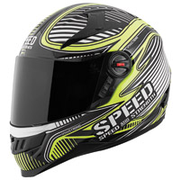 Speed and Strength Speed Strong SS1300 Gloss Hi-Vis Full Face Helmet