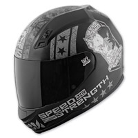 Speed and Strength Dogs Of War SS700 Matte Black/Charcoal Helmet