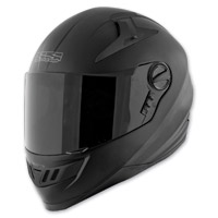 Speed and Strength Solid Speed SS1300 Matte Black Full Face Helmet