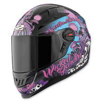 Speed and Strength Wicked Garden SS1300 Gloss Black Full Face Helmet