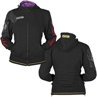 Speed and Strength Killer Queen Ladies Armored Hoodie
