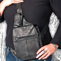 That's A Wrap Leather Organizer Sling Purse