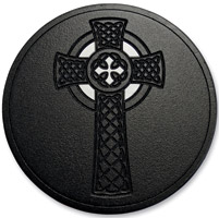 LA Choppers Black Celtic Cross Air Cleaner Assembly
