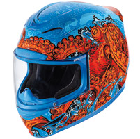ICON Airmada Colossal Blue Full Face Helmet