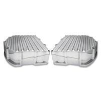 Covingtons Customs Panhead Finned Style Chrome Rocker Box Cover